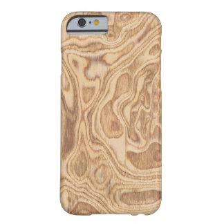 Olive Ash Burl Veneer Real Wood iPhone 6 Case