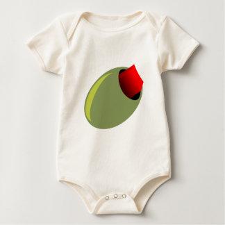 Olive Baby Bodysuit