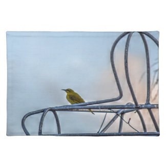 OLIVE BACKED SUNBIRD AUSTRALIA ART EFFECTS PLACEMAT