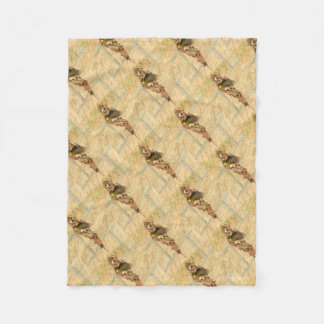 OLIVE BACKED SUNBIRD QUEENSLAND AUSTRALIA FLEECE BLANKET