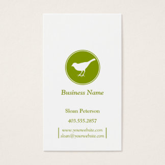 Olive Bird Business Card