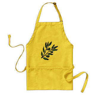 olive branch apron