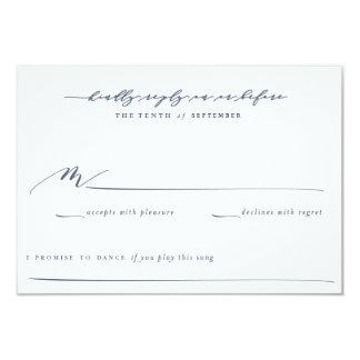 Olive Branch Boho Garden Wedding Reply Card 9 Cm X 13 Cm Invitation Card