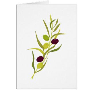 Olive Branch Card