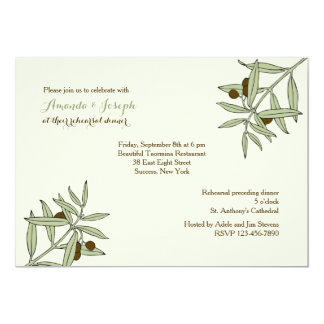 Olive Branches Invitation