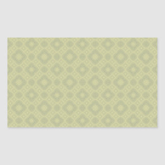 Olive Cream Diamons Pattern Sticker
