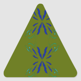 OLIVE DESIGN ELEMENTS TRIANGLE STICKER