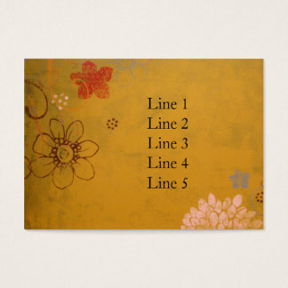 Olive Flowers Business Card