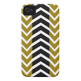 Olive Green and Black Whale Chevron iPhone 4 Covers