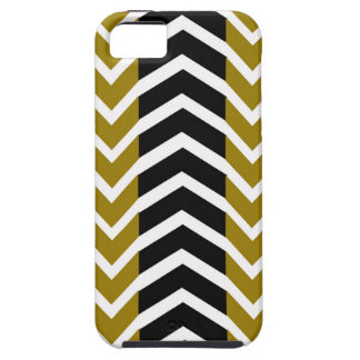 Olive Green and Black Whale Chevron iPhone 5 Cover