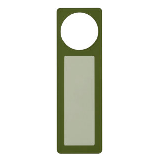 Olive Green Decor Easily Customize This Door Hanger