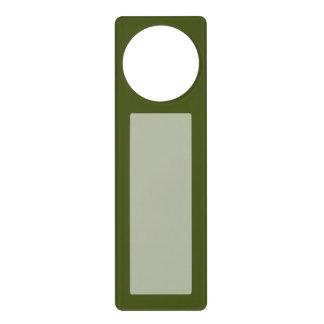 Olive Green Decor Easily Customize This Door Knob Hangers