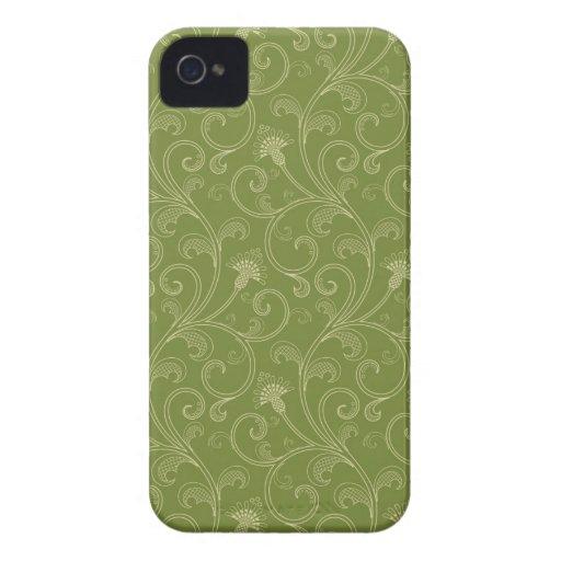 Olive green floral swirls elegant blackberry bold blackberry bold covers