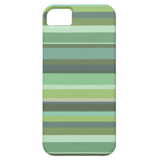 Olive green horizontal stripes iPhone 5 covers
