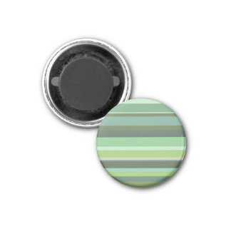 Olive green horizontal stripes magnet