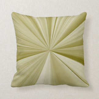 Olive Green Pinch Knot Pillow