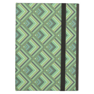 Olive green stripes scale pattern case for iPad air