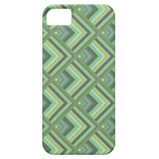 Olive green stripes scale pattern iPhone 5 cases