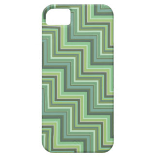 Olive green stripes stairs pattern case for the iPhone 5