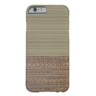 Olive green stripes tatami print zen barely there iPhone 6 case