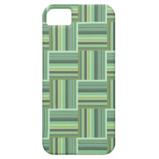 Olive green stripes weave pattern case for the iPhone 5