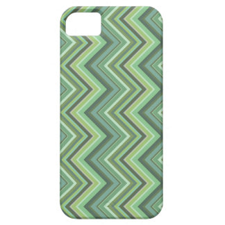 Olive green zigzag stripes barely there iPhone 5 case