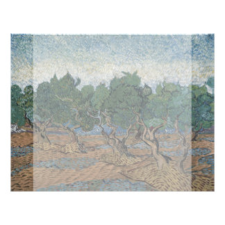 Olive Grove by Vincent Van Gogh Personalized Flyer