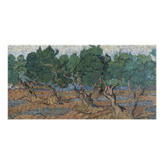 Olive Grove by Vincent Van Gogh Personalised Photo Card