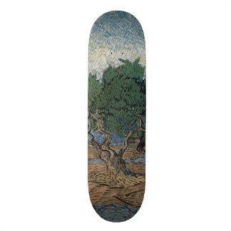 Olive Grove by Vincent Van Gogh Skate Decks