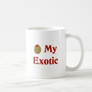 Olive (I Love) My Exotic Coffee Mugs