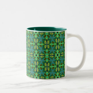 Olive Jubilee 11 oz Two-Tone Mug