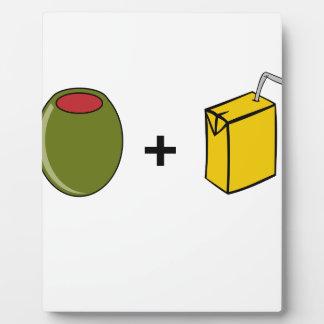 Olive Juice I Love You Plaque