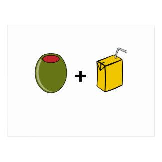 Olive Juice I Love You Postcard