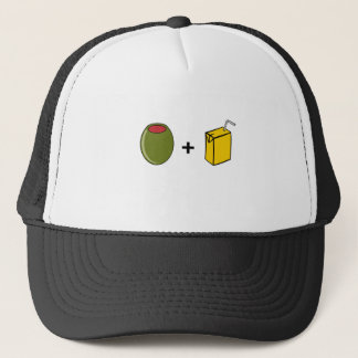 Olive Juice I Love You Trucker Hat