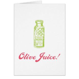 Olive Juice Valentine's Day Card