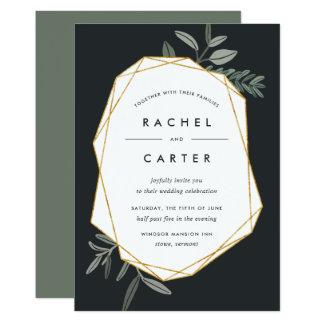 Olive Leaf Wedding Invitation