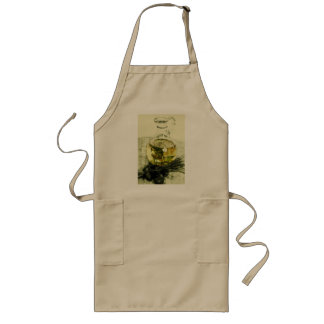 olive oil design apron