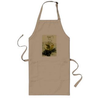olive oil design apron