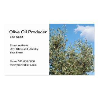 Olive Oil Producer Business Card