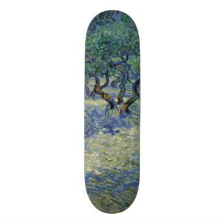 Olive Orchard by Vincent Van Gogh Custom Skate Board