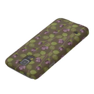 Olive Pretty Purple Flowers Samsung Galaxy Nexus Galaxy S5 Covers