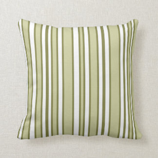 Olive Stripes Cushion