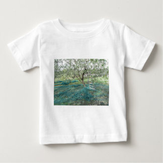 Olive tree in the garden baby T-Shirt