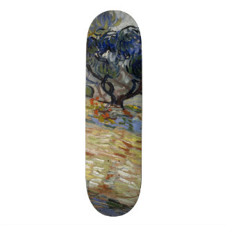 Olive Trees by Vincent Van Gogh Custom Skateboard