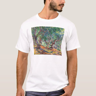 Olive Trees in Bordighera, 1884 Claude Monet T-Shirt