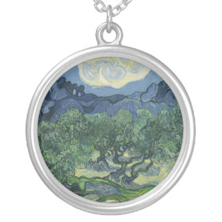 Olive Trees Necklace