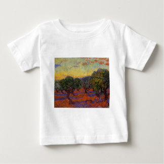 Olive Trees - Vincent Van Gogh Baby T-Shirt