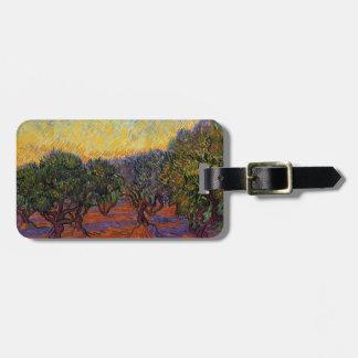 Olive Trees - Vincent Van Gogh Bag Tag