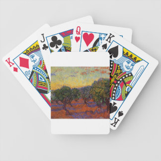Olive Trees - Vincent Van Gogh Bicycle Playing Cards