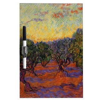 Olive Trees - Vincent Van Gogh Dry Erase Board